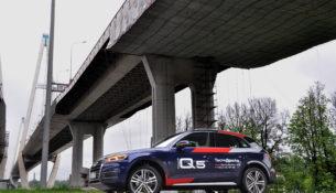 Консервативное будущее: тест-драйв Audi Q5