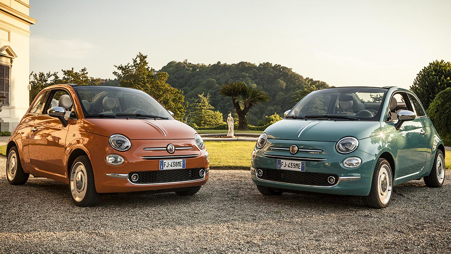 Юбилейные Fiat 500: Back to the 50s!