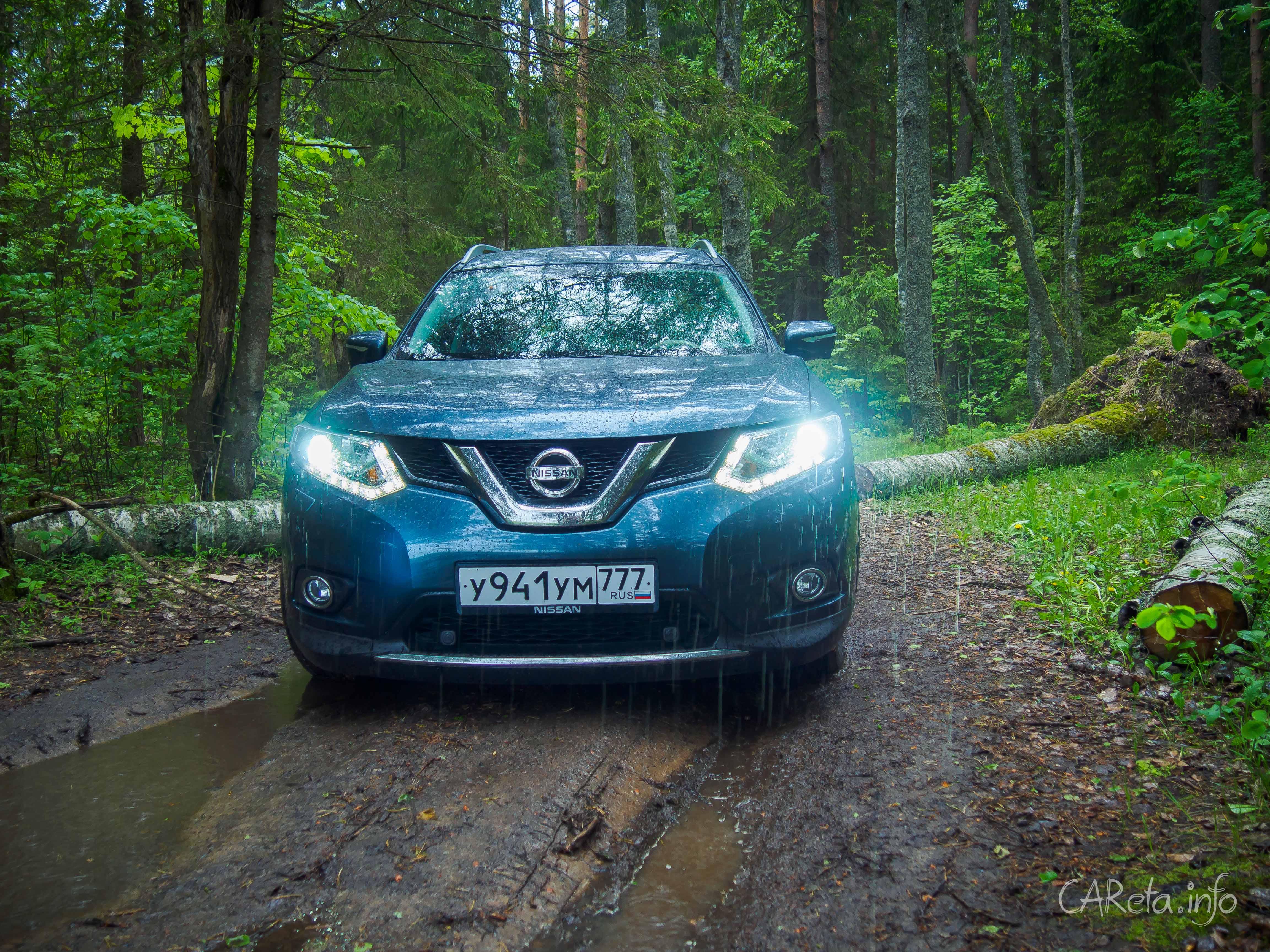 Qashqai, только больше: тест-драйв Nissan X-Trail