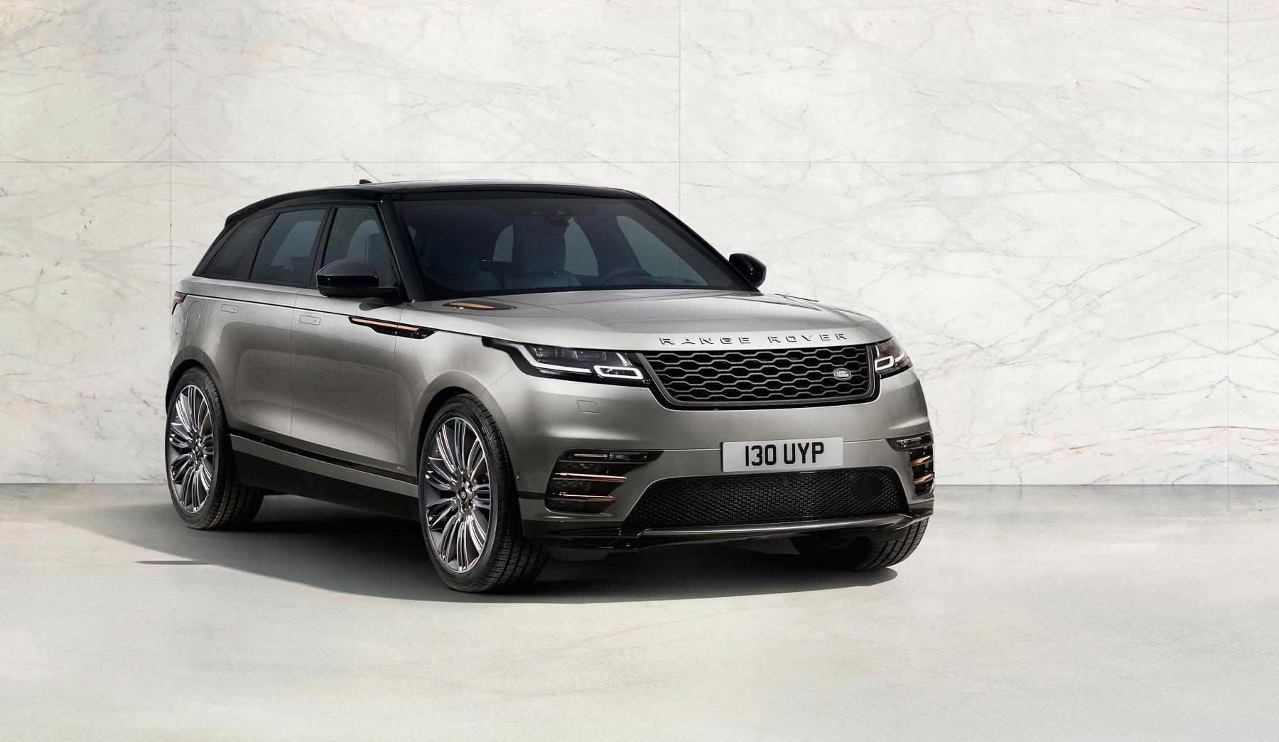 Range Rover Velar уйдет в продажу в октябре