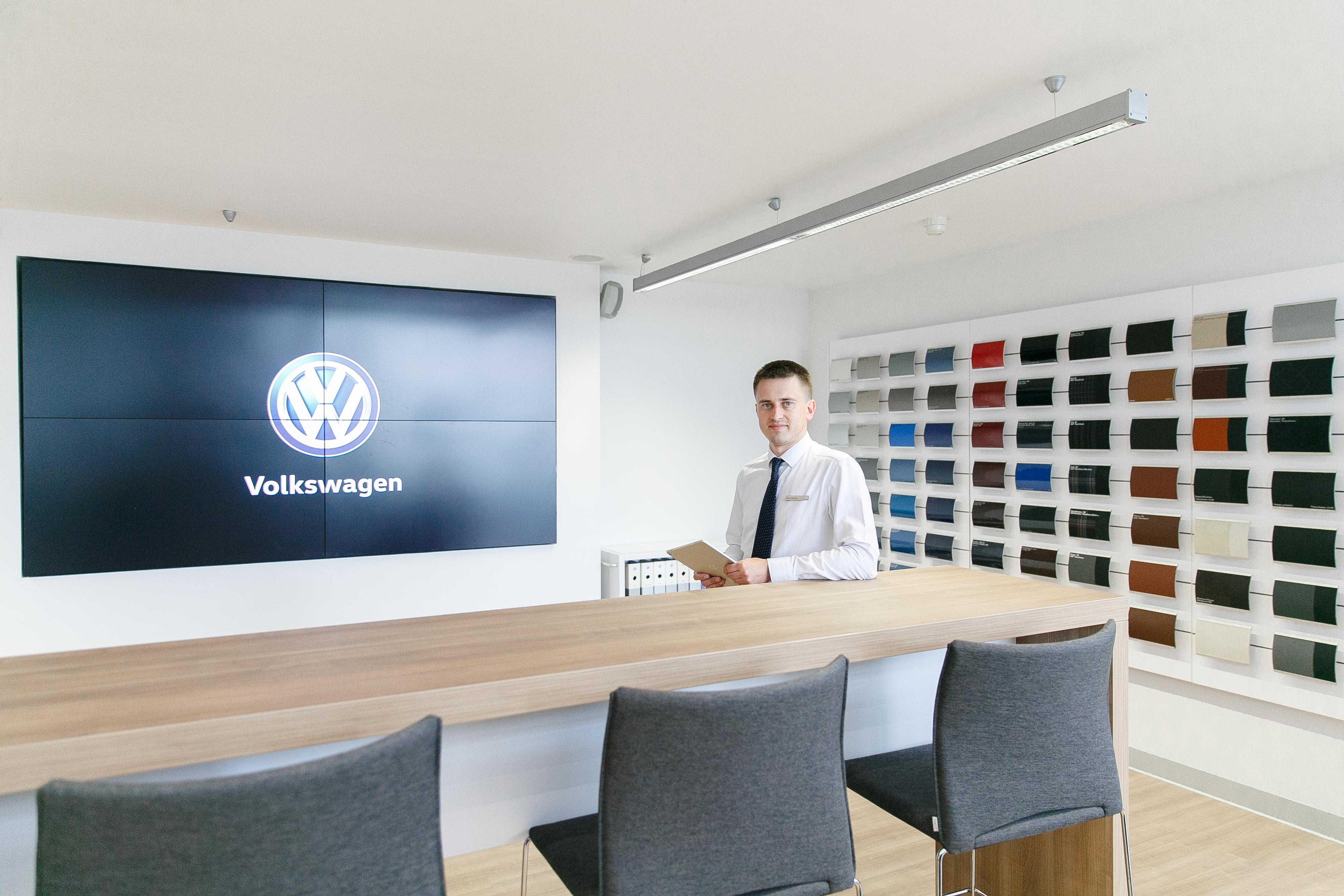 Поколение digital: в Спб открыт первый цифровой шоу-рум Volkswagen