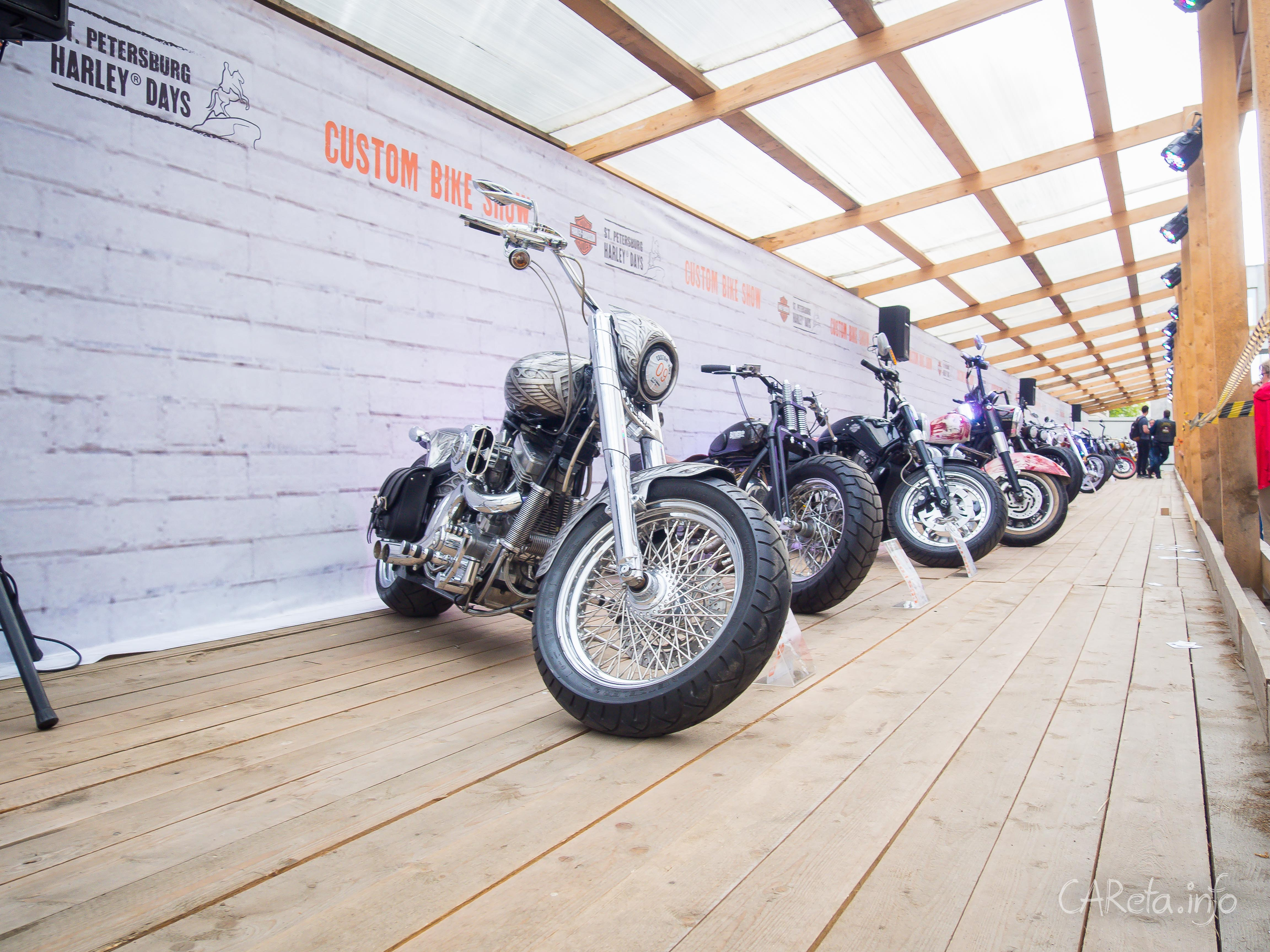 Фестиваль Harley Days на площади Островского