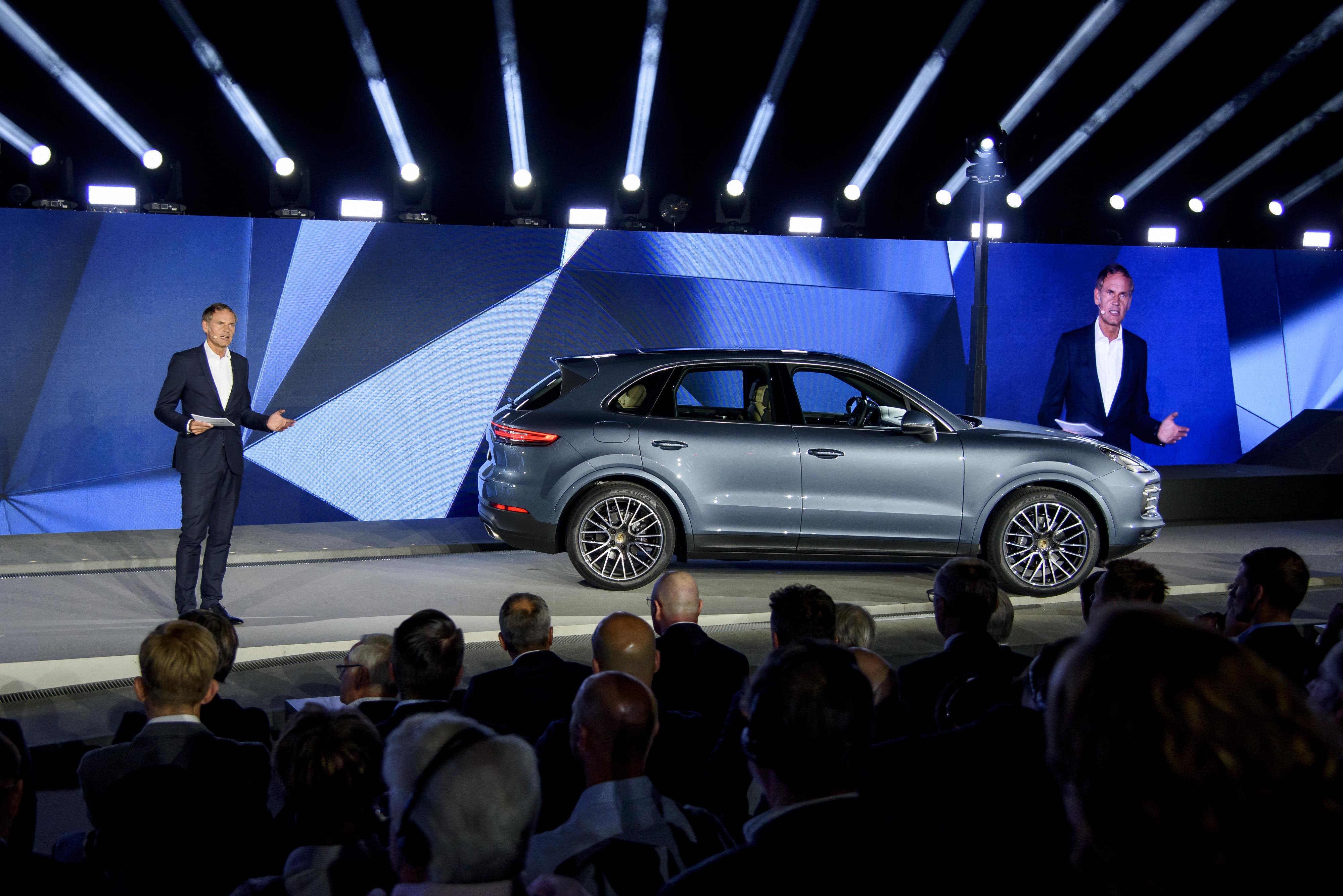 """Еще больше Porsche, еще больше Cayenne"": презентация новинки"