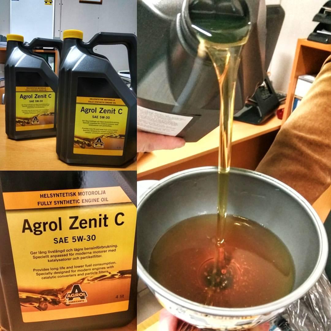 Как почувствовать разницу при замене масла: совместно с AGROL