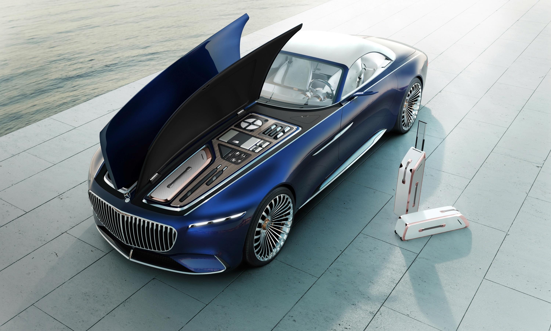 Maybach показала концепт самого красивого электромобиля