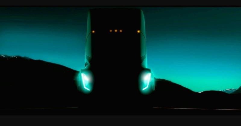 Tesla испытает в пустыне беспилотный...грузовик