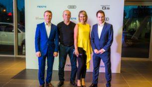 В Ауди Центре Выборгский состоялся розыгрыш Audi Q5
