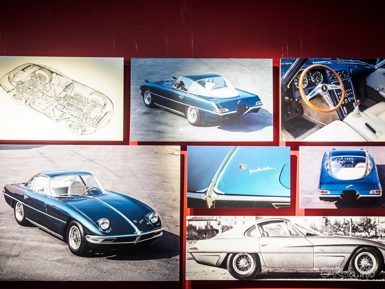 Автомобили в музее: Lamborghini в Эрарте