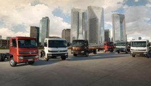 Новая модель VW - грузовик Delivery