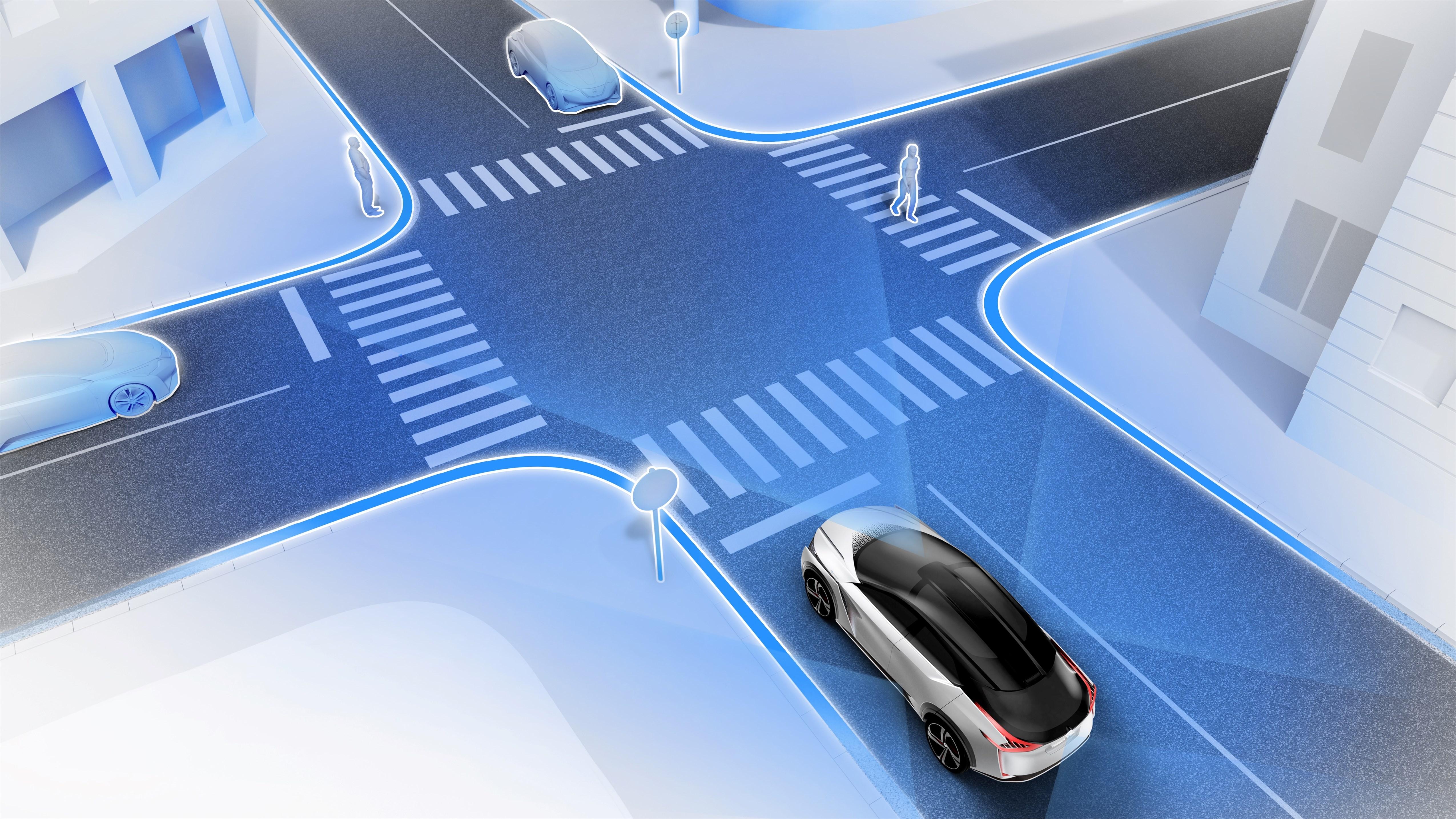 Nissan IMx - новый концепт электрического кроссовера
