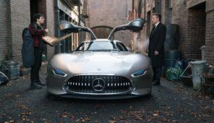 Бэтмен будет ездить на Mercedes
