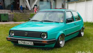 Эволюция VW Golf