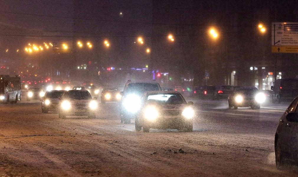 Как водить в снегопад и в других сложных погодных условиях