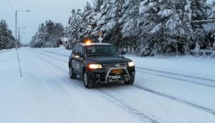 Финны сделали автопилот для езды по заснеженным дорогам