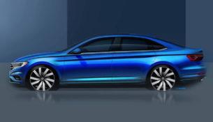 VW показал совершенно новую Jetta