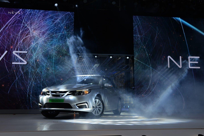 Saab 9-3 - теперь китайский электромобиль