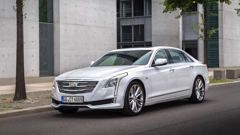 Cadillac CT6 - приключения американца в России начинаются