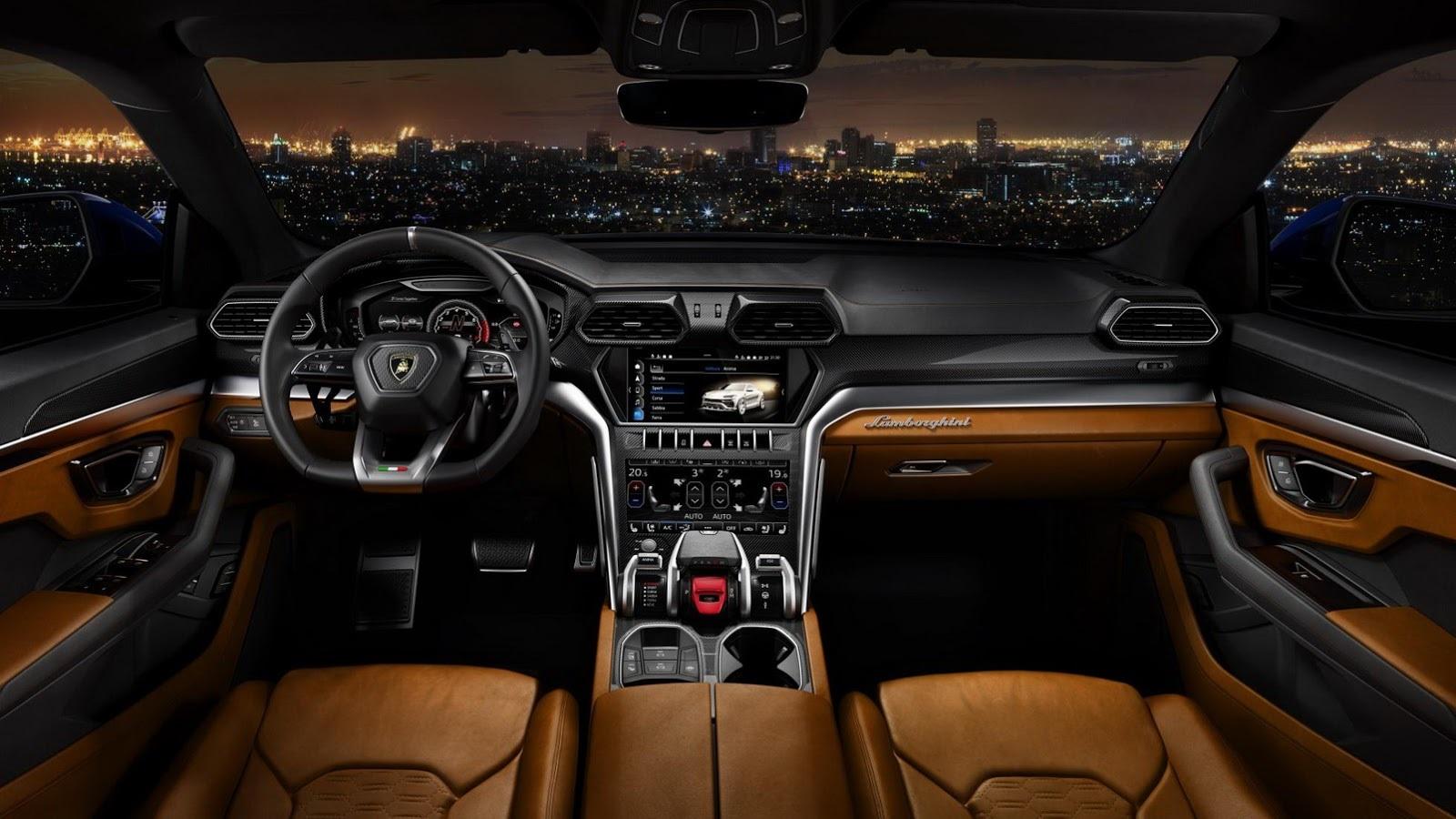Lamborghini Urus - карты раскрыты