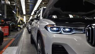 BMW показала предсерийный X7