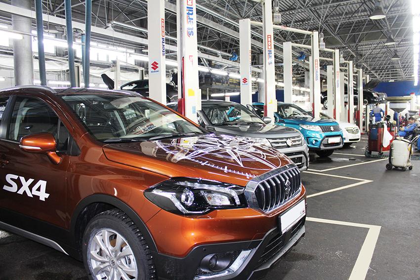 Открылся новый дилерский центр Suzuki в Санкт-Петербурге