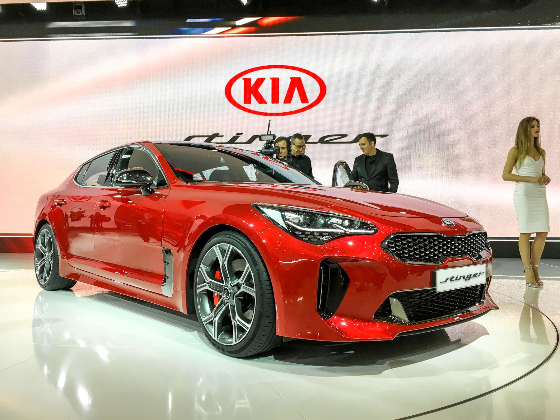 Производство KIA Stinger началось в России