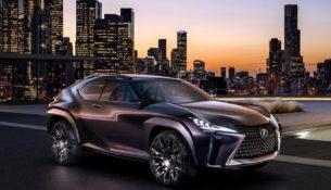 Lexus везет UX в Женеву
