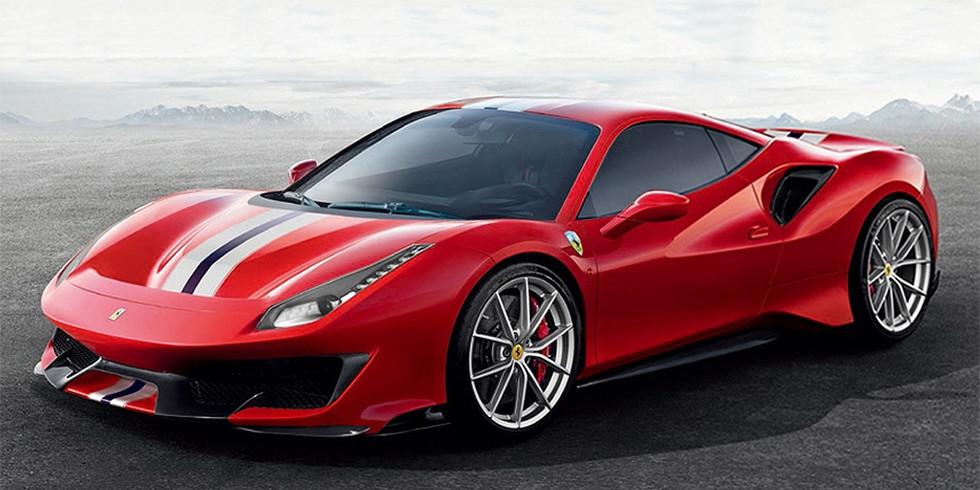 Новая ХОРОШАЯ машина Ferrari