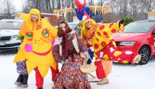 Авто Премиум исполнял желания на Масленице 2018