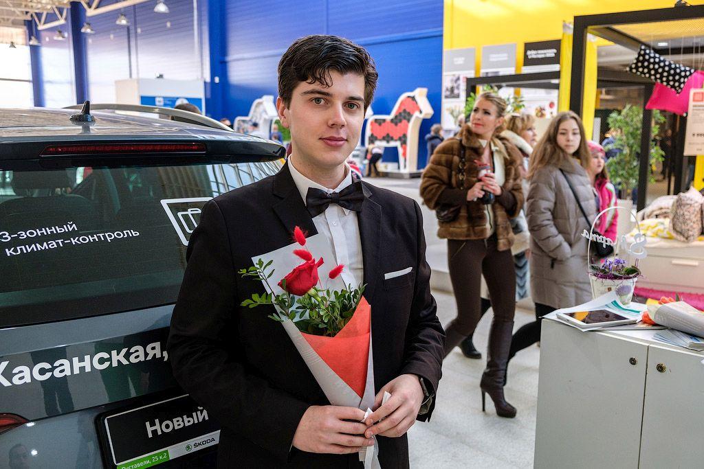 Цветочный патруль: ŠKODA «Авто Премиум» на страже весеннего настроения