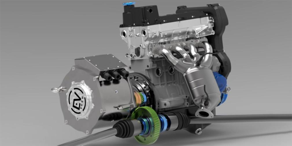 Электродвигатель для гибридов готовятся поставить на Lada Vesta