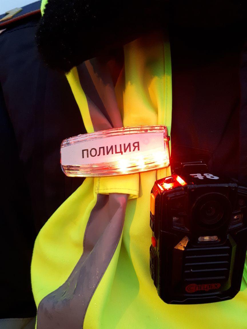 """Пешим полицейским в Казахстане выдали """"мигалки"""""""