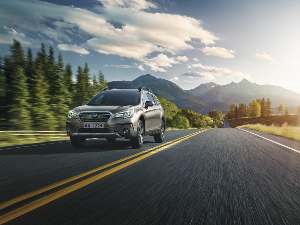 Обновленный Subaru Outback получит в России новые опции