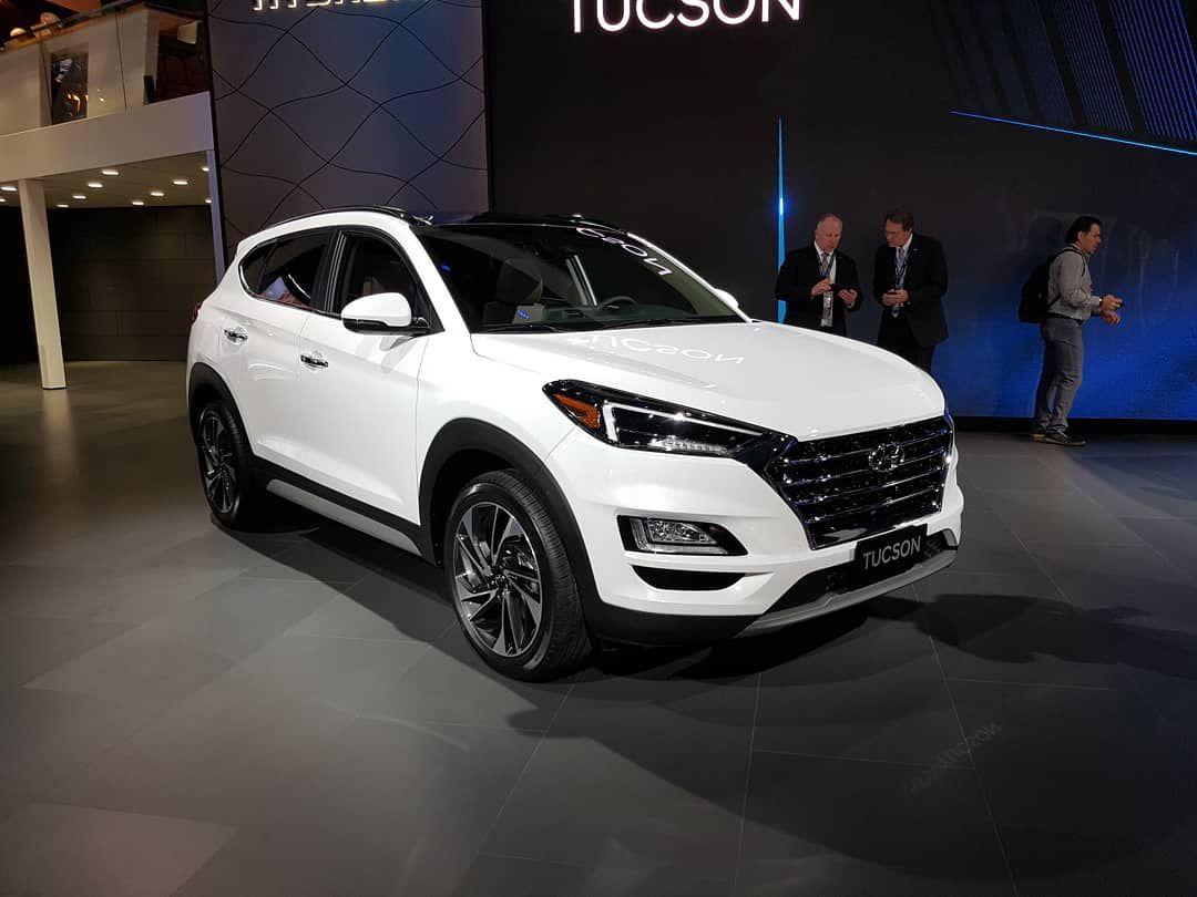 Hyundai представила обновленный Tucson