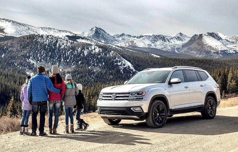 Громкая премьера: VW Teramont на выставке Мир автомобиля 2018