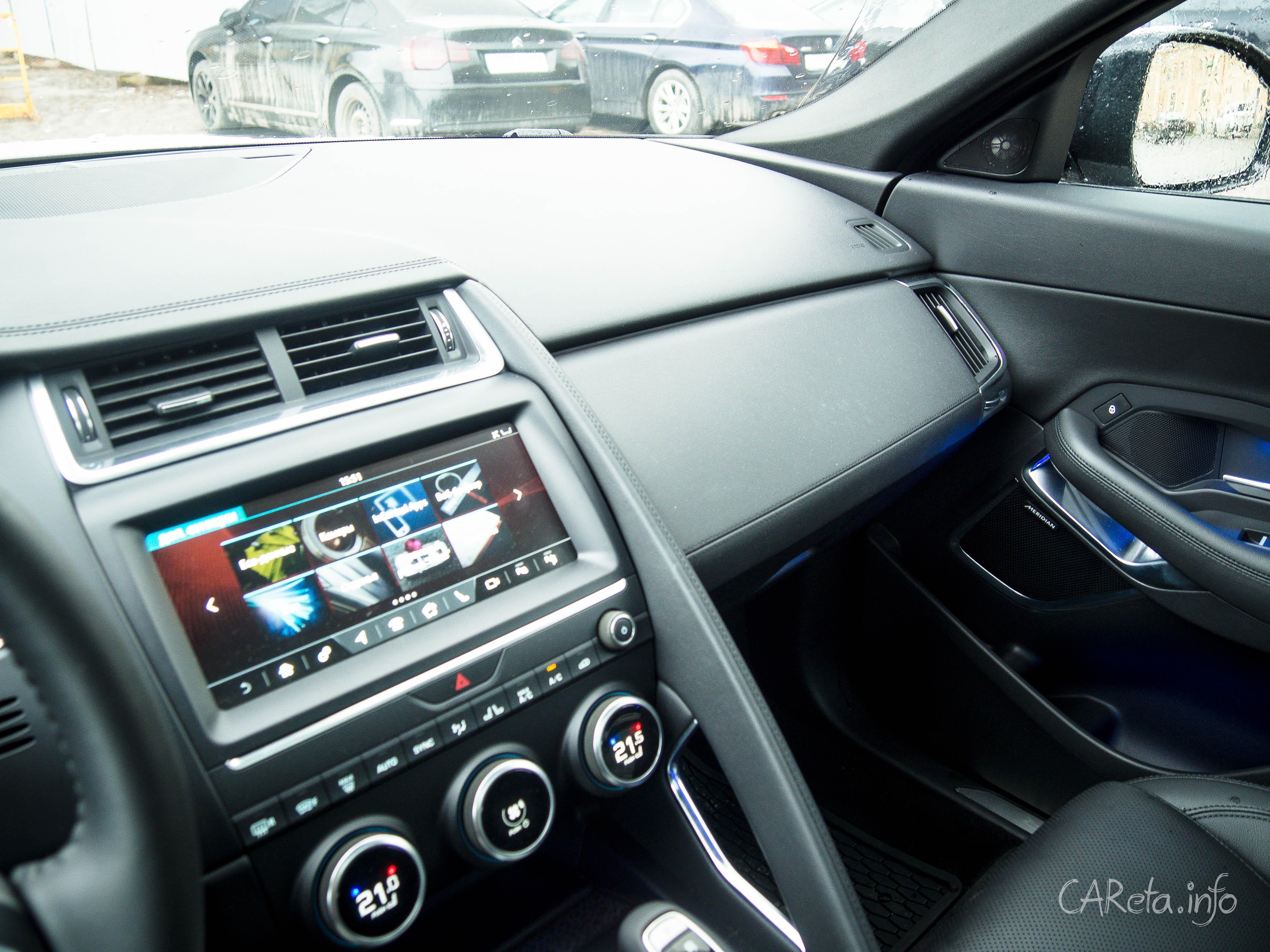 Ррррмяу: тест-драйв Jaguar E-Pace