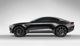 Кроссовер Aston Martin - только бензин, только хардкор!
