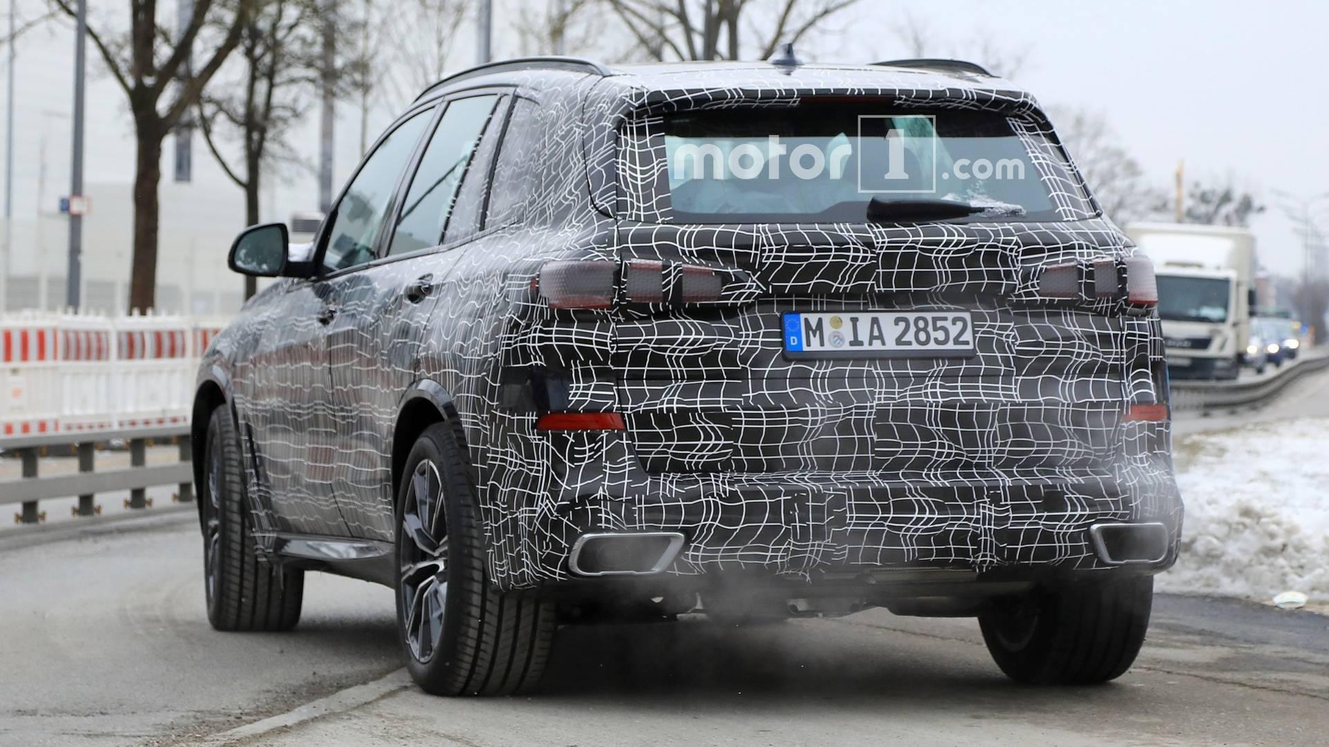Шпионские фото нового BMW X5