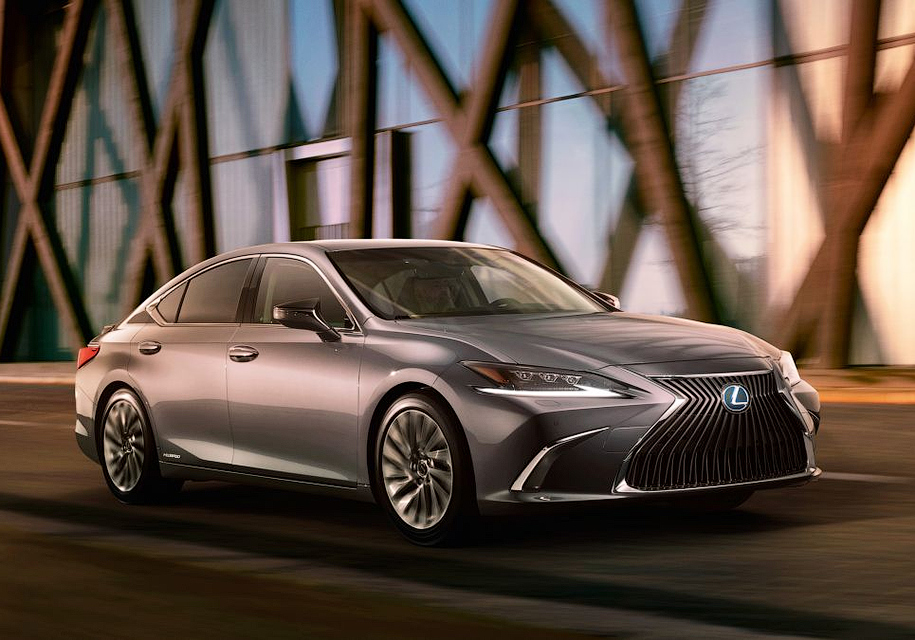 Новый Lexus ES показали на фото