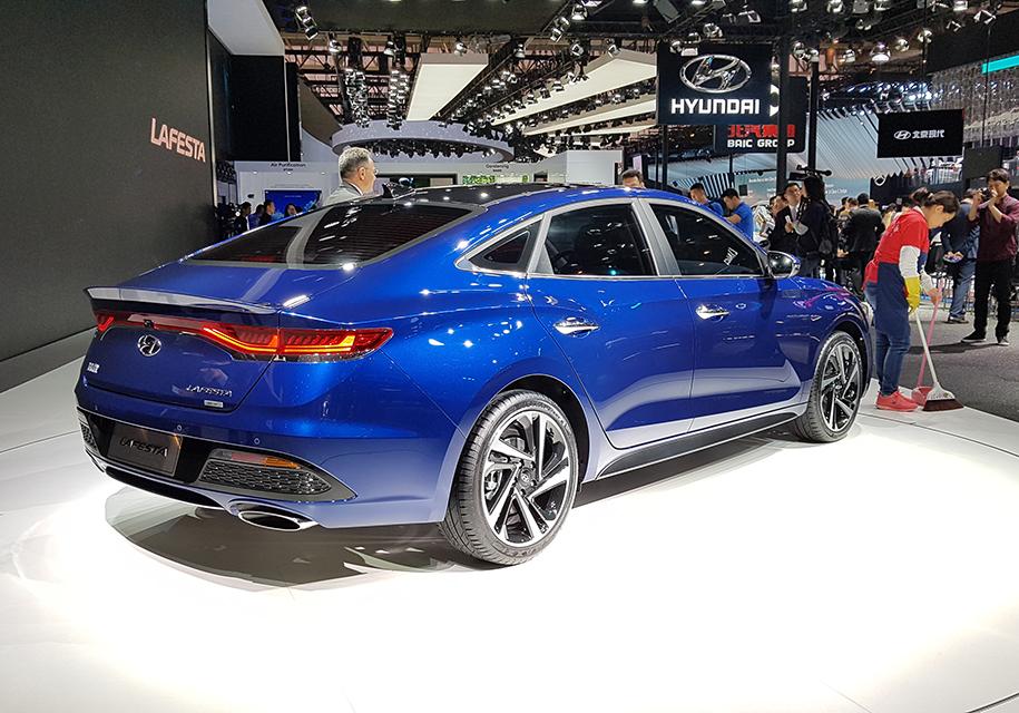 Hyundai привезла в Китай Lafesta