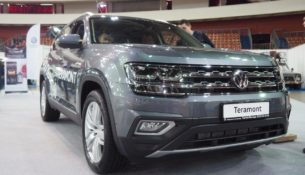 """Премьера Volkswagen Teramont на выставке """"Мир Автомобиля 2018"""""""
