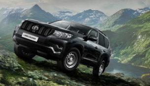 Land Cruiser Prado стал развозным фургоном