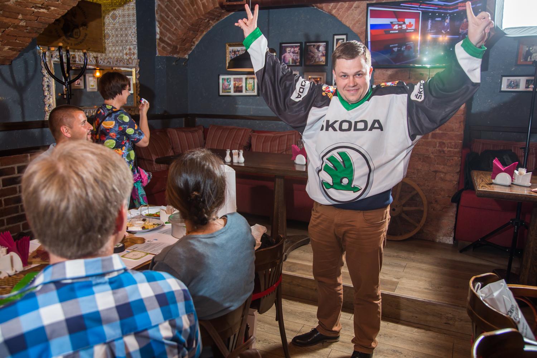 SKODA 26 лет поддерживает хоккей