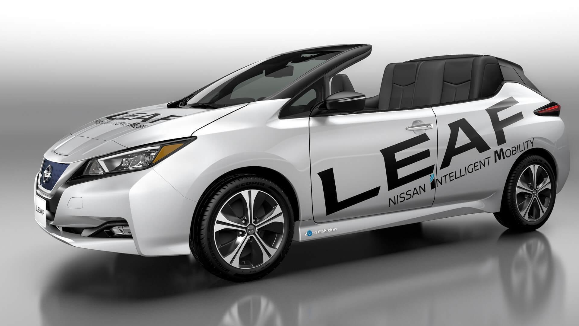 Nissan Leaf в честь ста тысяч сорвало крышу