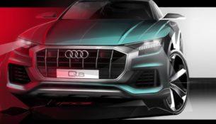Новый эскиз Audi Q8