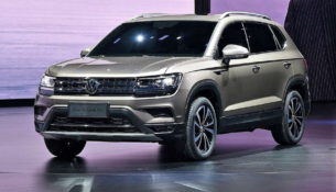 Новый кроссовер Volkswagen - Tharu