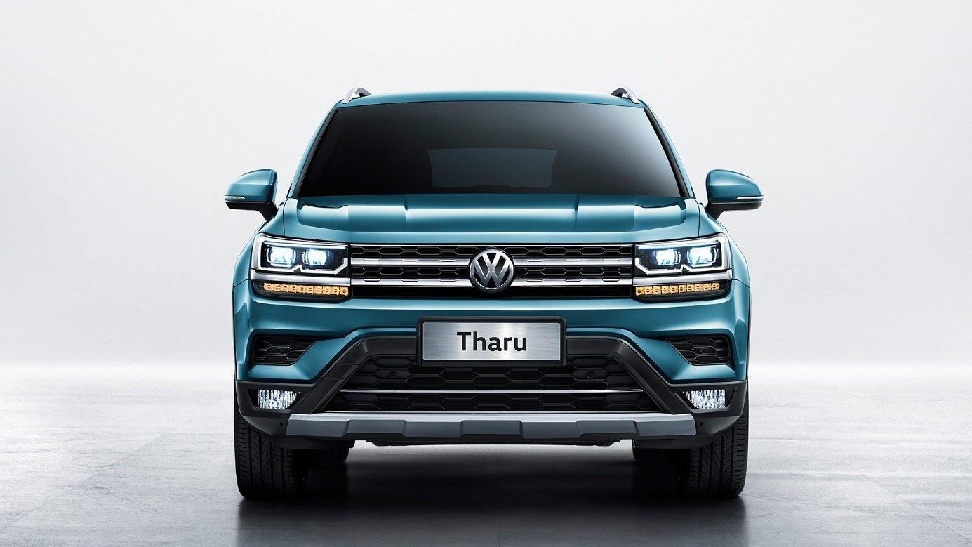 VW Tharu: первые официальные фотографии