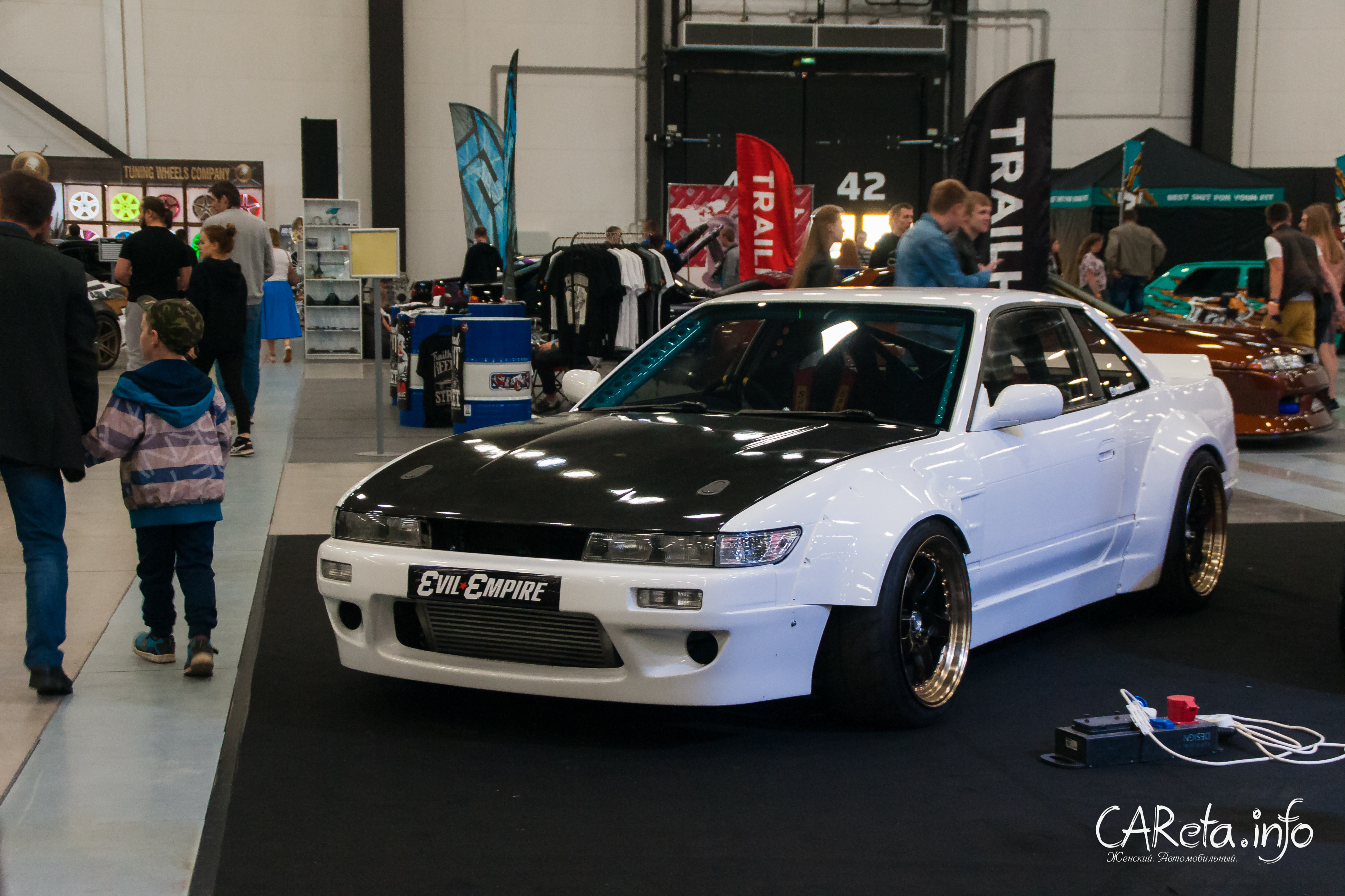 Royal Auto Show 2018: те же и Flanker F