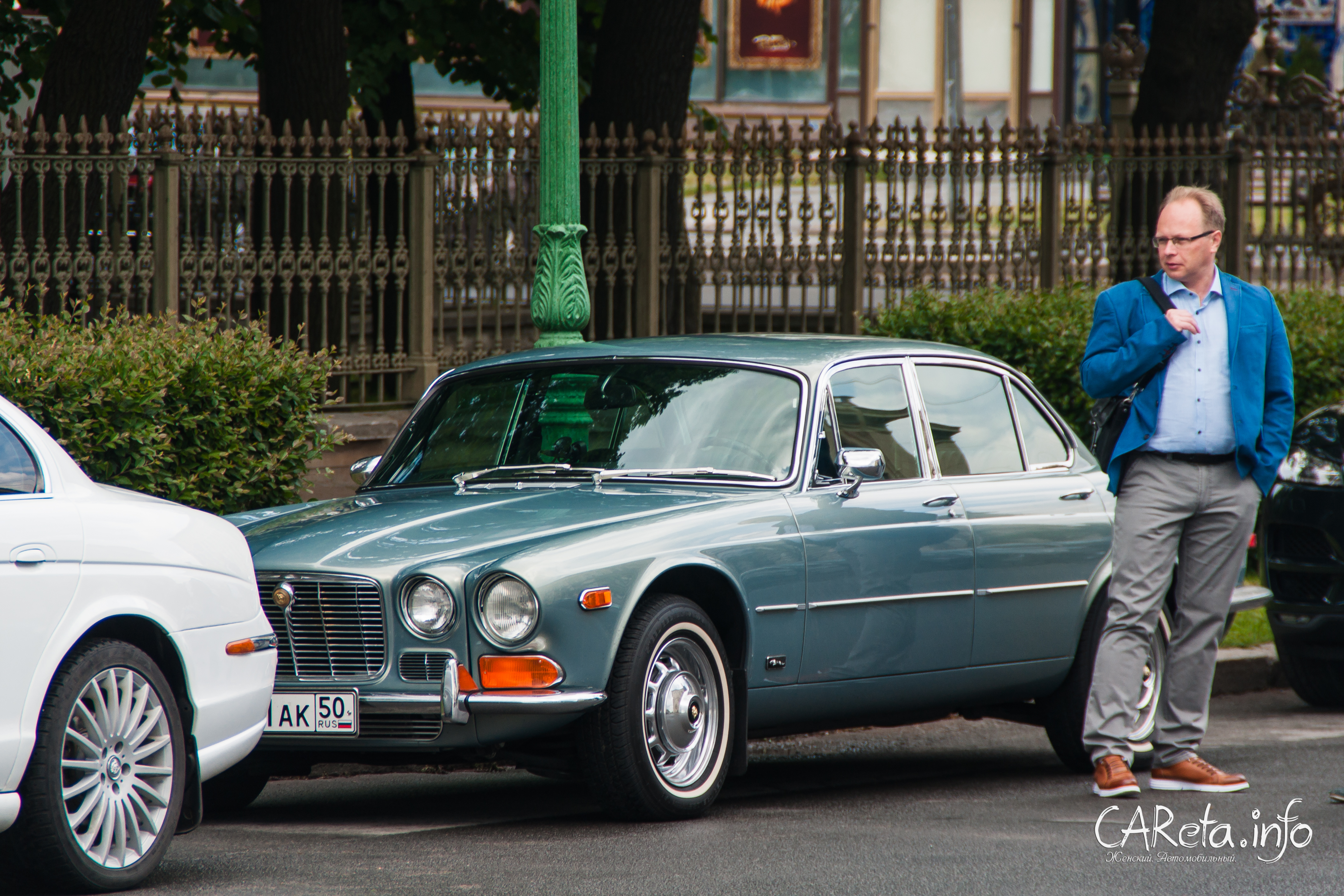 Белые ночи в стиле Jaguar