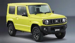 Первые фото нового Suzuki Jimny