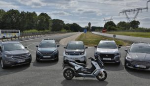 """BMW, Peugeot и Ford показали """"общение"""" машин"""